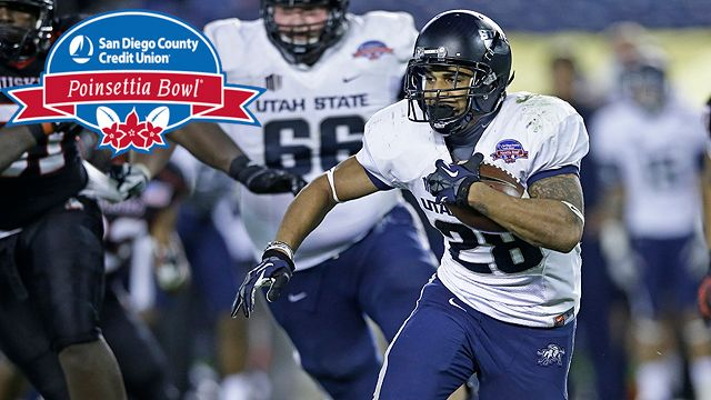 Utah State vs. #23 Northern Illinois: San Diego County Credit Union Poinsettia Bowl