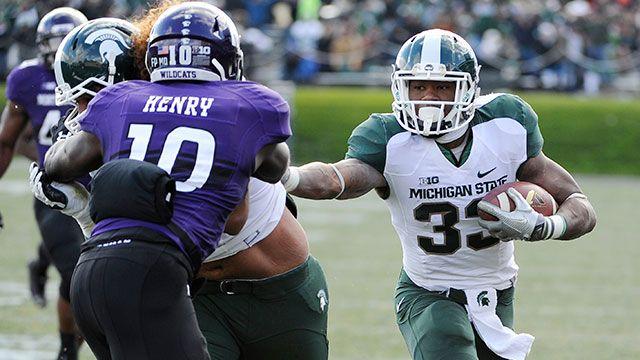 #13 Michigan State vs. Northwestern