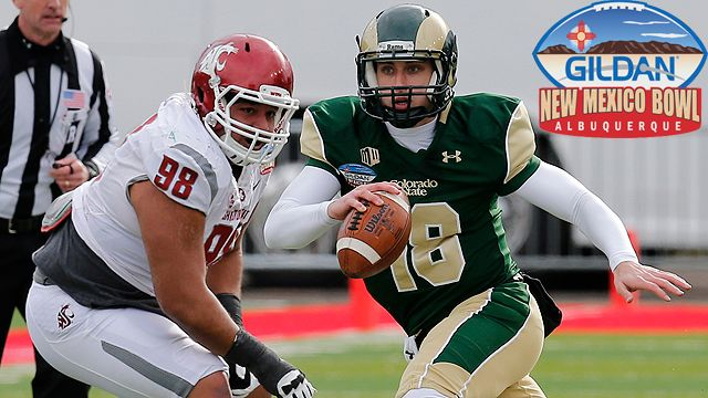 Washington State vs. Colorado State: Gildan New Mexico Bowl