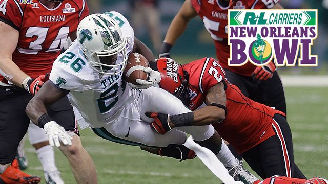 Tulane vs. Louisiana-Lafayette: R+L Carriers New Orleans Bowl