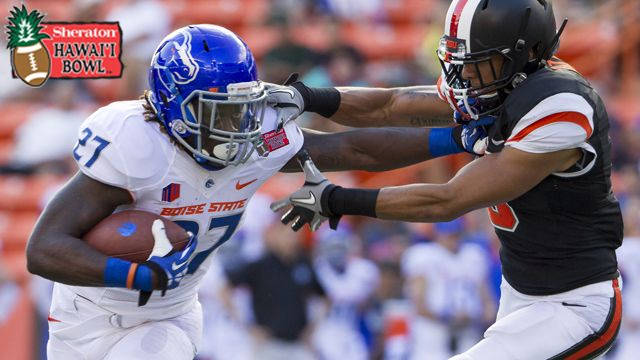 Boise State vs. Oregon State: Sheraton Hawaii Bowl