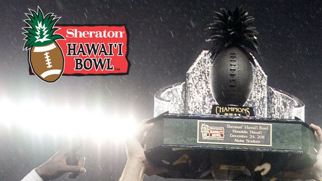 Sheraton Hawaii Bowl Trophy Ceremony presented by Capital One