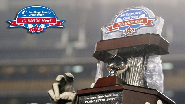 San Diego County Credit Union Poinsettia Bowl Trophy Ceremony presented by Capital One
