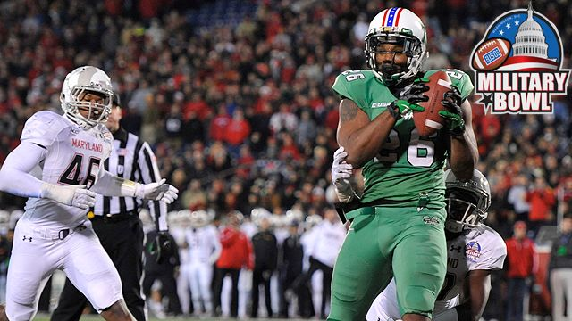 Marshall vs. Maryland: Military Bowl