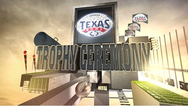 Texas Bowl Trophy Ceremony presented by Capital One