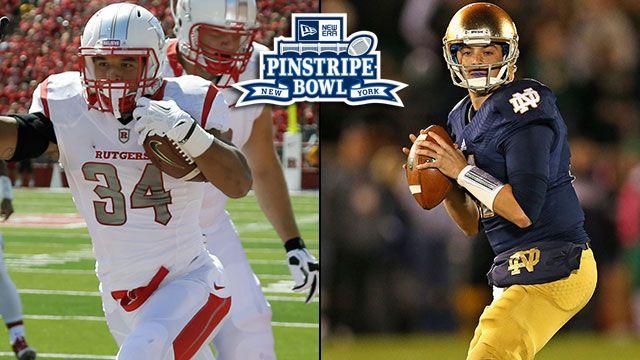 Rutgers vs. Notre Dame: New Era Pinstripe Bowl