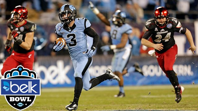Cincinnati vs. North Carolina: Belk Bowl