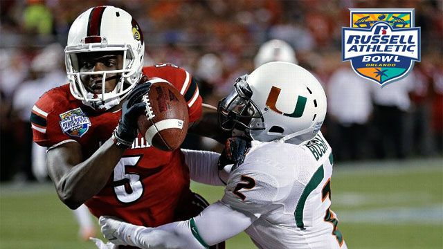 Miami (Fla) vs. #18 Louisville: Russell Athletic Bowl