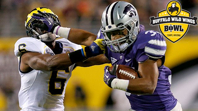 Michigan vs. Kansas State: Buffalo Wild Wings Bowl