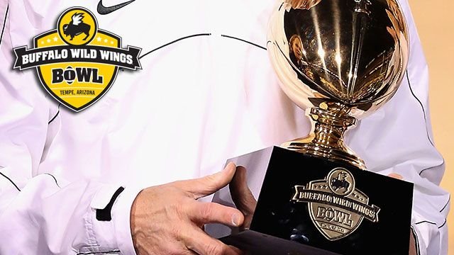 Buffalo Wild Wings Bowl Trophy Ceremony presented by Capital One