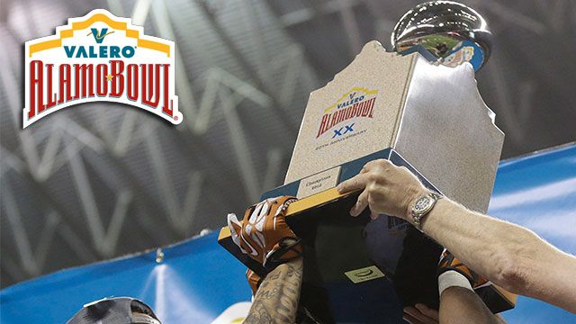 Valero Alamo Bowl Trophy Ceremony presented by Capital One