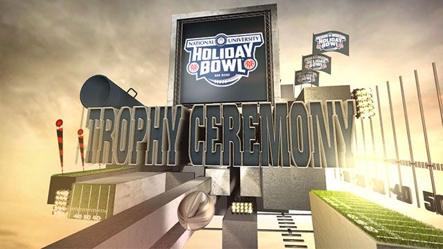National University Holiday Bowl Trophy Ceremony presented by Capital One