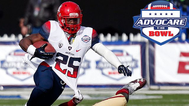 Arizona vs. Boston College: Advocare V100 Bowl