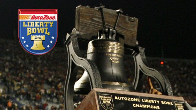 Autozone Liberty Bowl Trophy Ceremony presented by Capital One