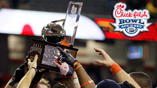 Chick-Fil-A Bowl Trophy Ceremony presented by Capital One