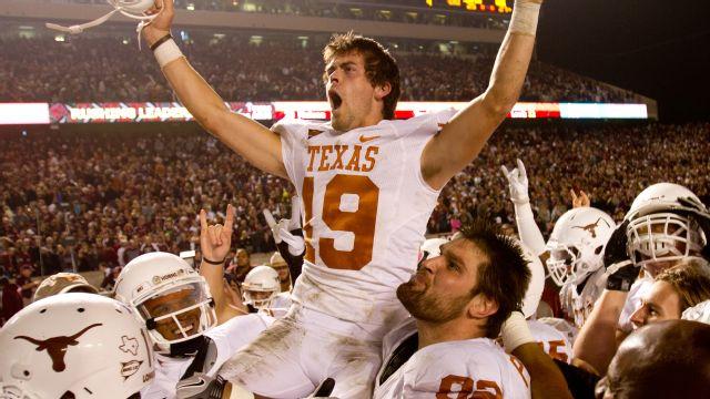 #25 Texas vs. Texas A&M