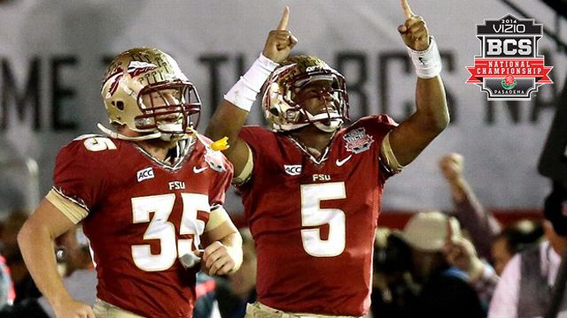 Main Feed - #1 Florida State vs. #2 Auburn: 2014 Vizio BCS National Championship