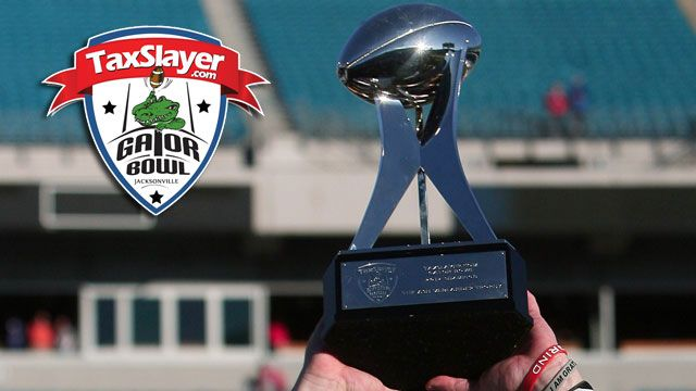 Taxslayer.com Gator Bowl Trophy Ceremony presented by Capital One