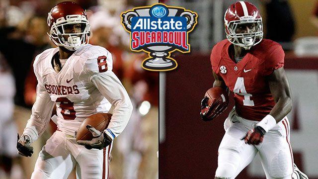 #11 Oklahoma vs. #3 Alabama: 2014 Allstate Sugar Bowl (SPA)