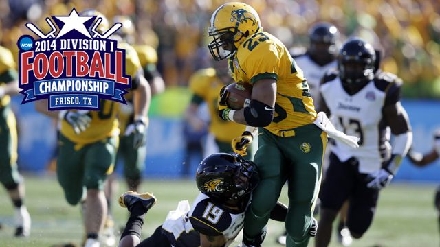 Towson vs. North Dakota State (Championship): NCAA FCS Championship Game
