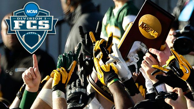 NCAA FCS Football Championship Trophy Presentation