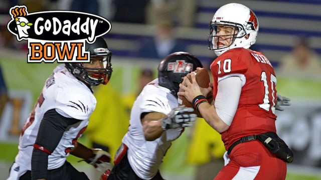 Arkansas State vs. Ball State: GoDaddy Bowl