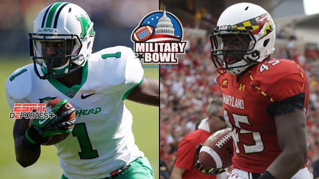 En Espa�ol - Marshall vs. Maryland: Military Bowl
