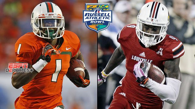 En Espa�ol - Miami (Fla) vs. #18 Louisville: Russell Athletic Bowl