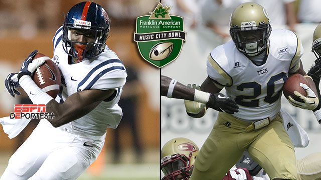 En Espa�ol - Mississippi vs. Georgia Tech: Franklin American Mortgage Music City Bowl