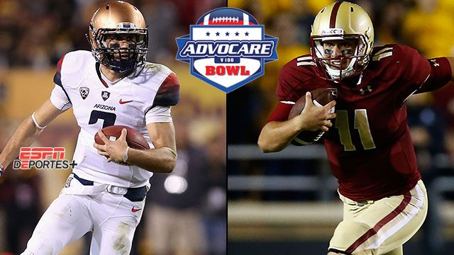 En Espa�ol - Arizona vs. Boston College: Advocare V100 Bowl