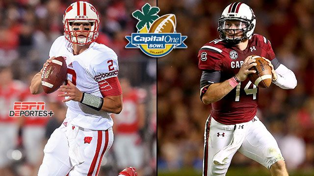 En Espa�ol - #19 Wisconsin vs. #9 South Carolina: Capital One Bowl