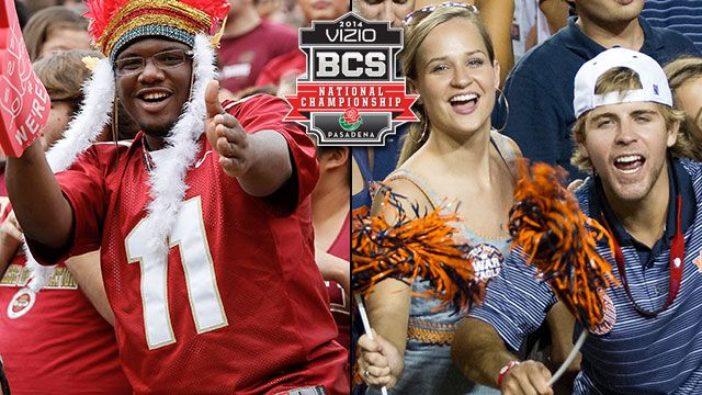 Fan Cam: 2014 Vizio BCS National Championship