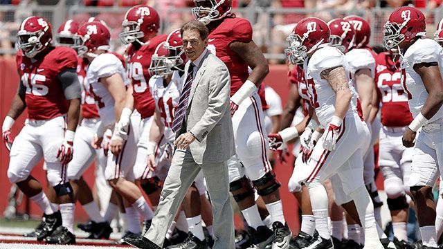 ESPNU Spring Football: Alabama