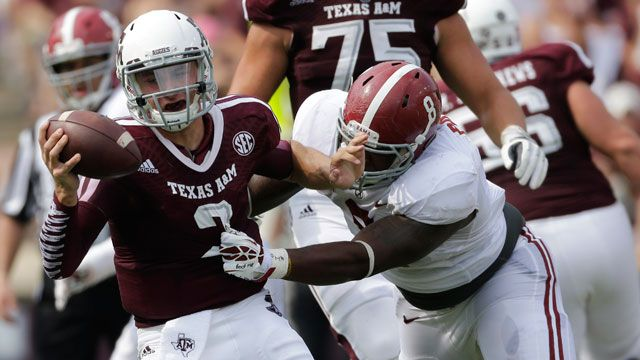 Alabama vs. Texas A&M (re-air)