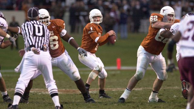 Texas A&M Aggies vs. Texas Longhorns  - 11/24/2000