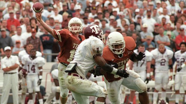 Texas A&M vs. Texas Longhorns  - 11/27/1998