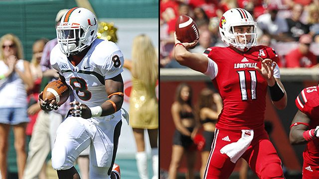 Miami (Fla) vs. Louisville (Football)
