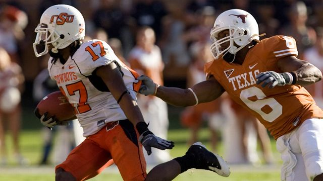 Oklahoma State Cowboys vs. Texas Longhorns - 10/25/2008 (re-air)