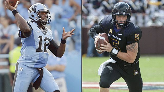 North Carolina vs. East Carolina (Football)
