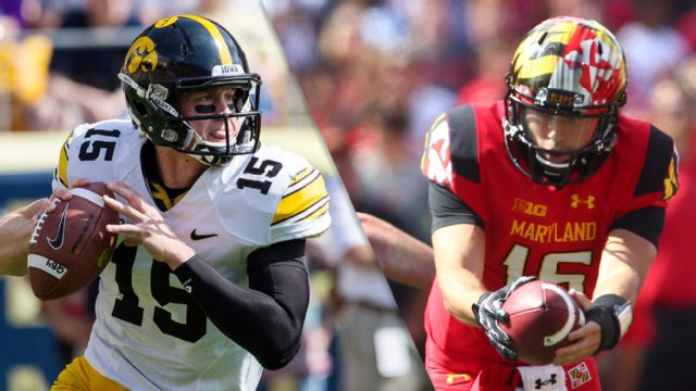 Iowa vs. Maryland (Football) (re-air)