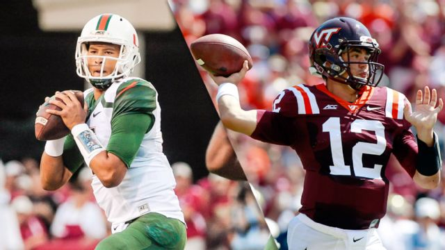 Miami (Fla) vs. Virginia Tech (Football) (re-air)