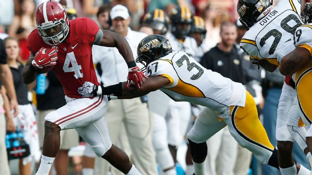 Southern Mississippi vs. Alabama (Football) (re-air)
