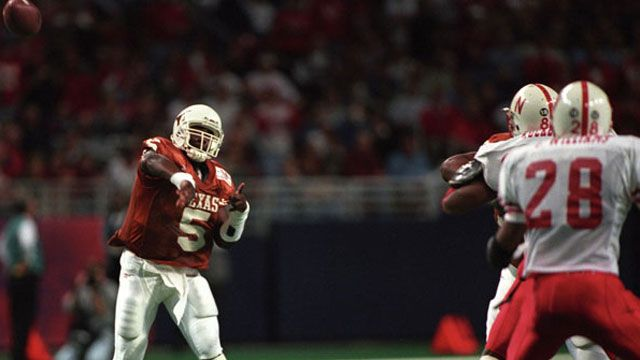 Nebraska Cornhuskers vs. Texas Longhorns - 12/7/1996 (re-air)