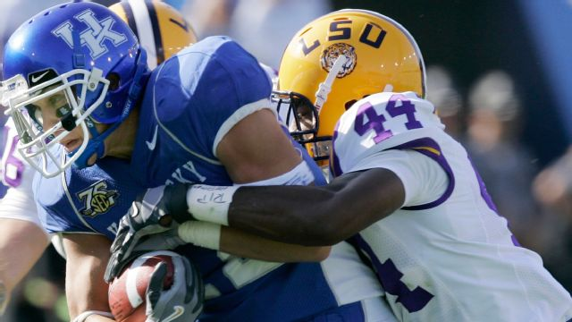 LSU Tigers vs. Kentucky Wildcats - 10/13/2007 (re-air)
