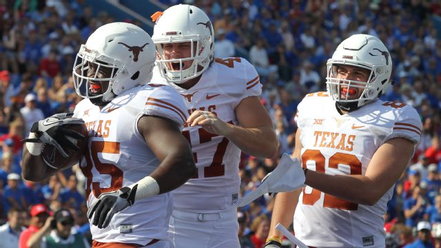 Texas vs. Kansas - 9/27/2014