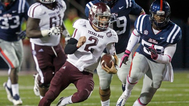 Texas A&M vs. Ole Miss - 10/6/2012 (re-air)