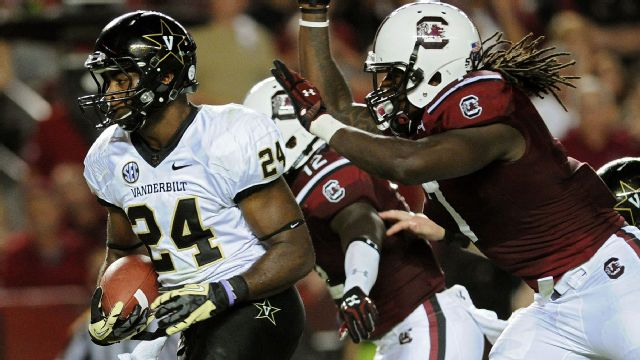 Vanderbilt vs. South Carolina - 9/14/2013 (re-air)