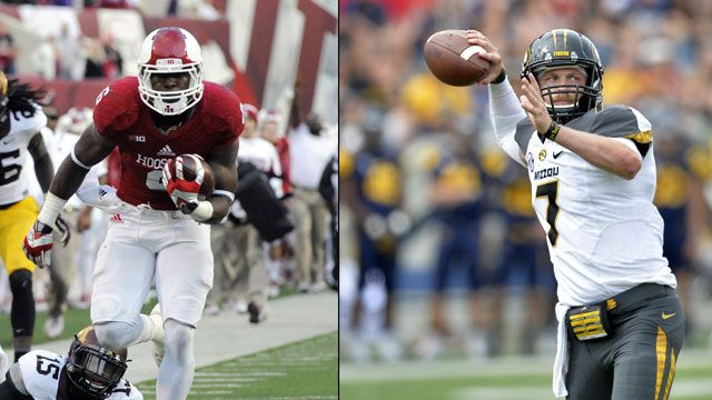 Indiana vs. #18 Missouri (Football)