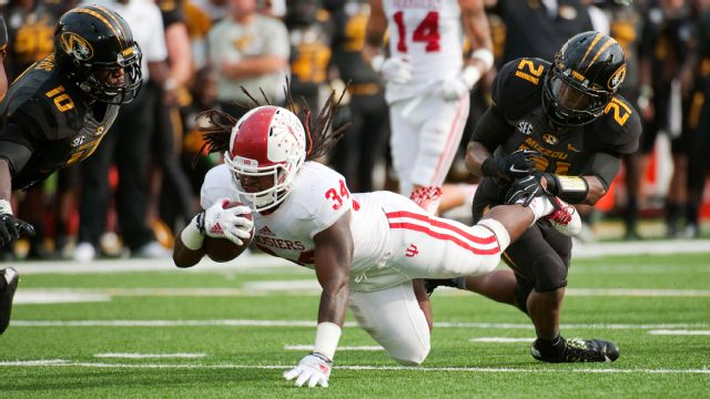 Indiana vs. Missouri - 9/20/2014 (re-air)