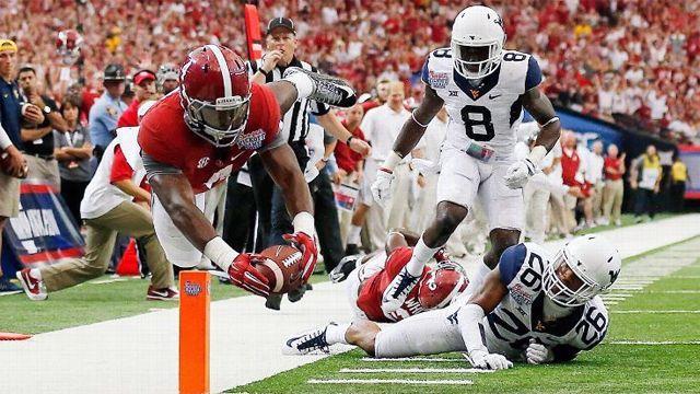 West Virginia vs. #2 Alabama (Football)